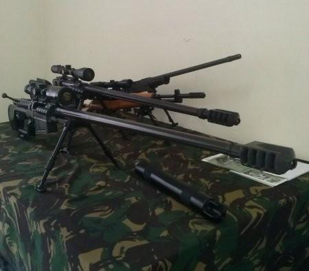 Hebat! Pindad Jual Senapan Sniper Ala Rambo
