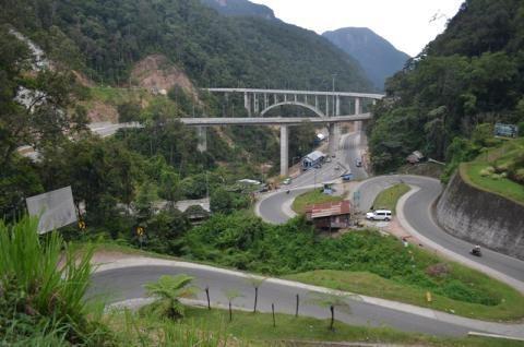 Ini Penampakan Jembatan Kelok 9 di Sumatera Barat