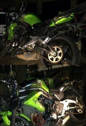 Polisi: Motor Uje Berada dalam Kondisi Bagus