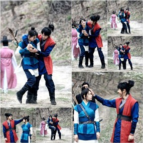 Mesranya Lee Seung Gi & Suzy \miss A\ di Lokasi Syuting