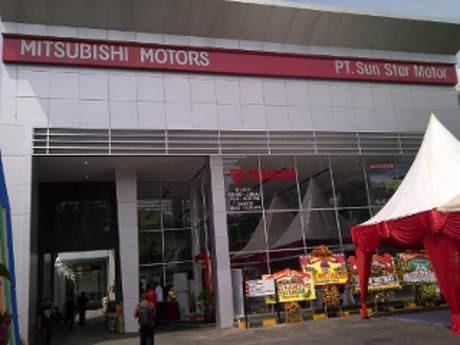 Diler Mitsubishi Sun Star Motor di Semarang Resmi Dibuka
