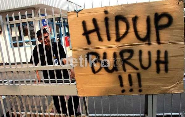 Buruh Tak Diperlakukan dengan Layak, Pabrik Limbah di Tangerang Disegel