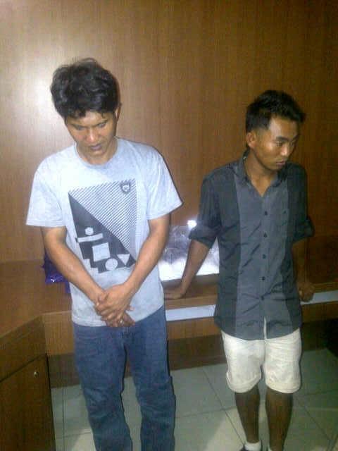 Bawa Sabu 7.1 Kg dari Malaysia, 2 TKI Ditangkap di Batam