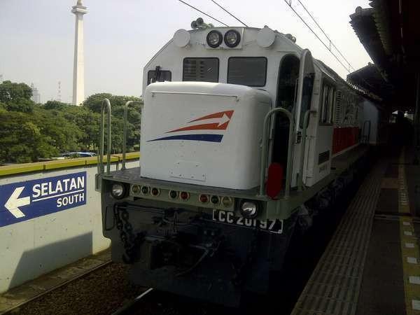 Ilustrasi kereta (Sastri/detikTravel)