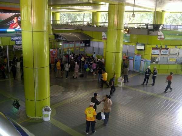 Stasiun Gambir di Jakarta (Sastri/detikTravel)