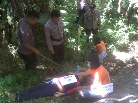 Lokasi Dikerubuti Warga, Rekonstruksi Pembunuhan Siswi SMK Dipindahkan