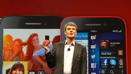 CEO BlackBerry Thorsten Heins (rou/detikINET)