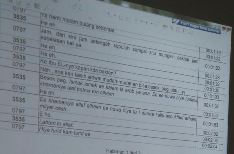 Ini Percakapan Telepon Fathanah-LHI Skenariokan Kuota Impor Sapi
