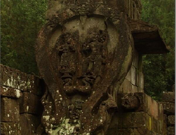 Relief rahim wanita di Candi Sukuh (Dewi/detikTravel)