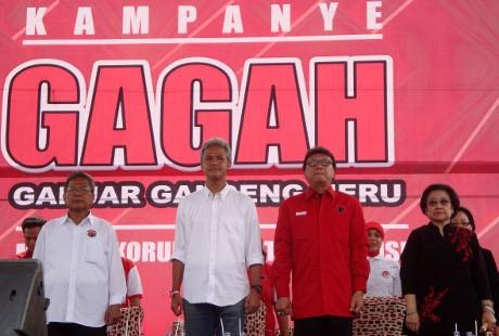 Di Kampanye Terakhir Pilgub Jateng, Megawati: Waspadai Money Politic!