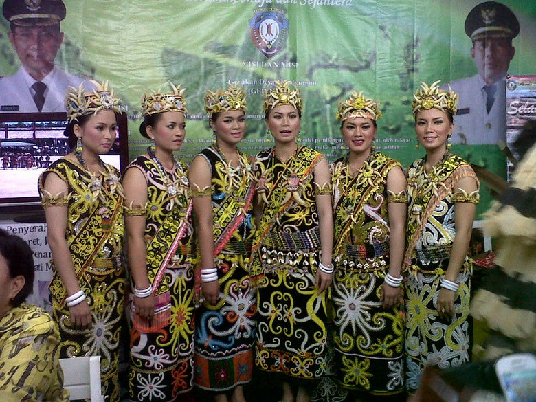 Aksi-aksi kebudayaan daerah di Gebyar Wisata & Budaya Nusantara 2013 (Asty/detikTravel)