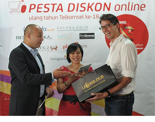Pesta Diskon Heboh Bersama Telkomsel Poin di Lazada.co.id