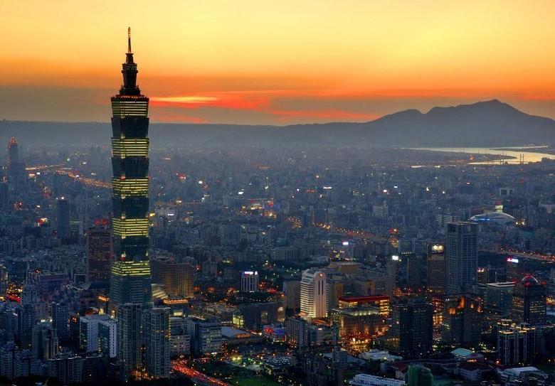 Taipei 101 di Taipei, Taiwan (Daniel Shih/Emporis)