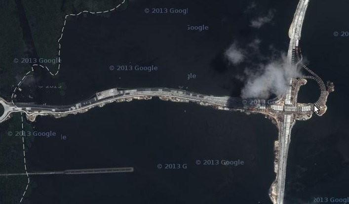 Wah, Jalan Tol Atas Laut Bali Sudah Muncul di Google Maps