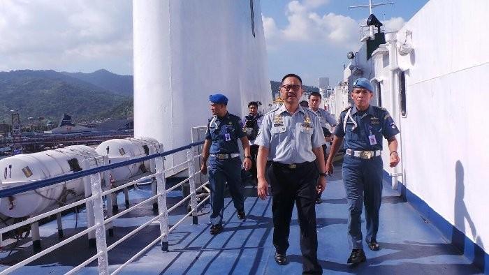 Kapal Feri Mewah KMP Portlink I Siap Layani Mudik Lebaran 2013