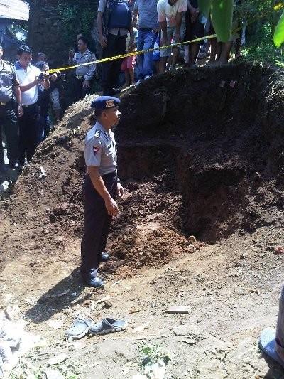 Mortir Aktif Peninggalan Zaman Perang Ditemukan di Manado