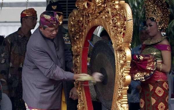Buka Pesta Kesenian Bali ke-35, SBY: Kami Bangga Kepada Masyarakat Bali