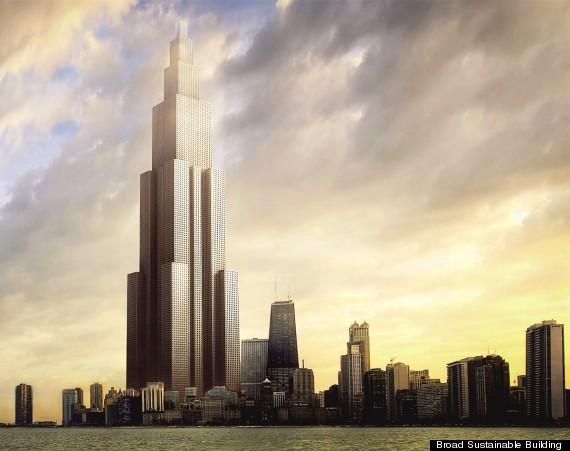 Wow! China Bangun Gedung Tertinggi di Dunia Hanya 3 Bulan Saja