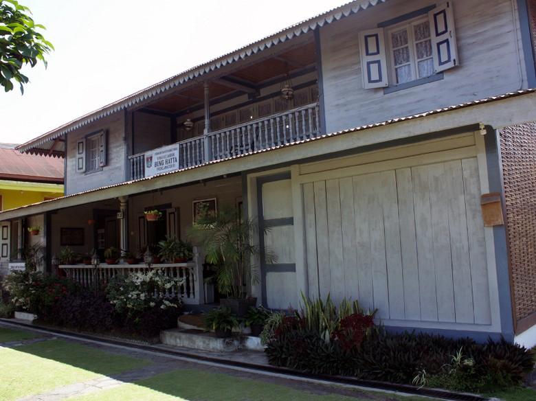 Bagian depan Rumah Bung Hatta di Bukittinggi (Doni/detikTravel)
