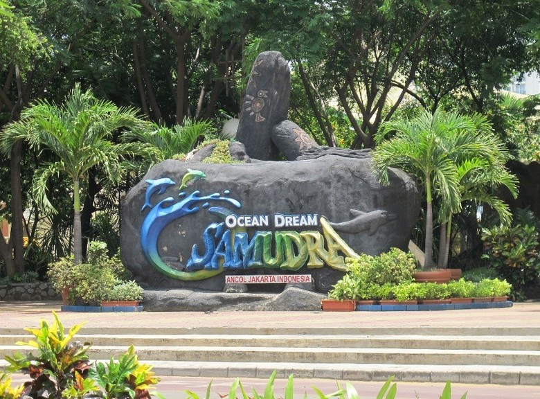 Bagian depan Ocean Dream Samudera di Ancol (Putri/detikTravel)