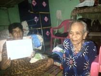 Tidak Dapat Balsem, Nenek ini Hidup Dari Belas Kasih Tetangganya