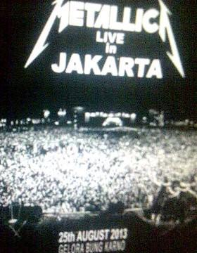 Metallica Manggung di Jakarta 25 Agustus?