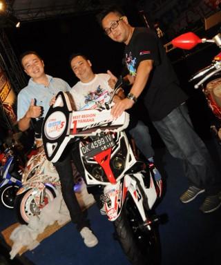Ini Dia Jagoan Modif Motor Matik Yamaha