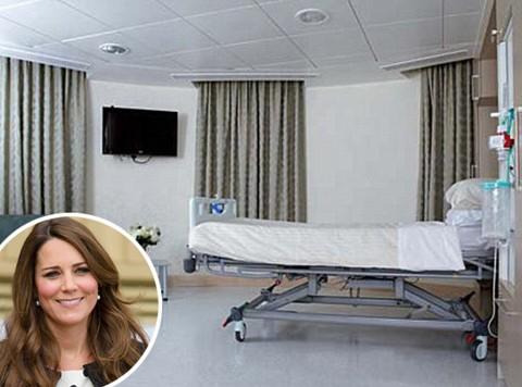 Mengintip Kamar Bersalin Kate Middleton