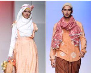 Untuk Para Pasangan, Busana Muslim Kembaran Masih Jadi Tren di 2013