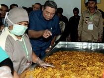 SBY Tinjau Sentra Industri Keripik Pisang