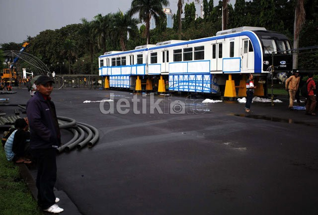 Monorel DKI Tak Dibangun Oktober 2013, Izin Jakarta Monorail Bakal Dicabut
