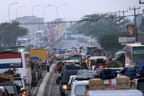Kecelakaan Arus Mudik Tahun 2013 Turun 33 Persen