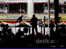 Berlatih 17an di Istana Merdeka