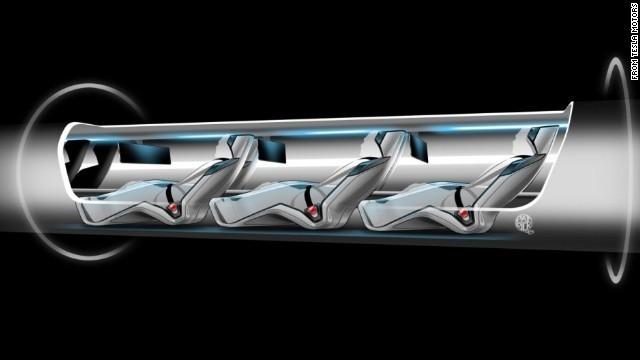 Hyperloop vs Kereta Tercepat di Dunia, Siapa yang Menang?