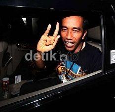 Semetal Apa Dandanan Jokowi Tonton Metallica Nanti Malam?