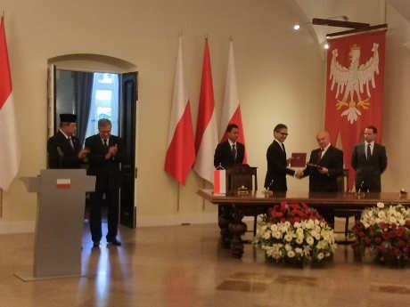 Indonesia dan Polandia Jajaki Produksi Bersama Alutsista
