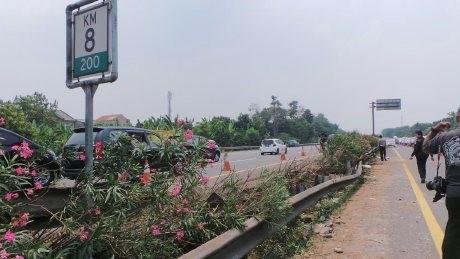 Polisi Gelar Kasus Kecelakaan Maut yang Libatkan Dul di Tol Jagorawi