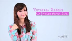 Tutorial Gaya Rambut Ala Hyelim \Wonder Girls\