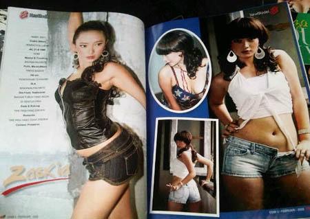 Zaskia \Gotik\ Kaget Foto Seksinya di Majalah Dewasa Kembali Beredar