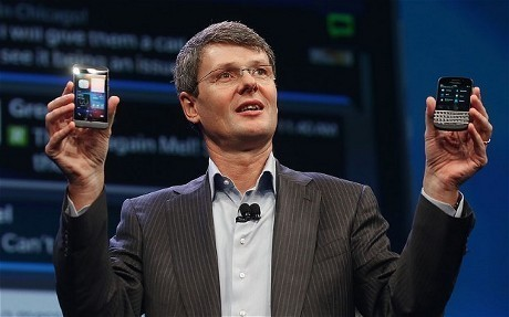CEO BlackBerry Thorsten Heins