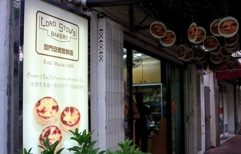 Lord Stow's Bakery & Cafe, tempat egg tart paling enak di Macau (Herianto/detikTravel)