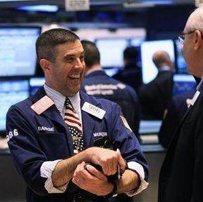 Wall Street Positif di Akhir Pekan