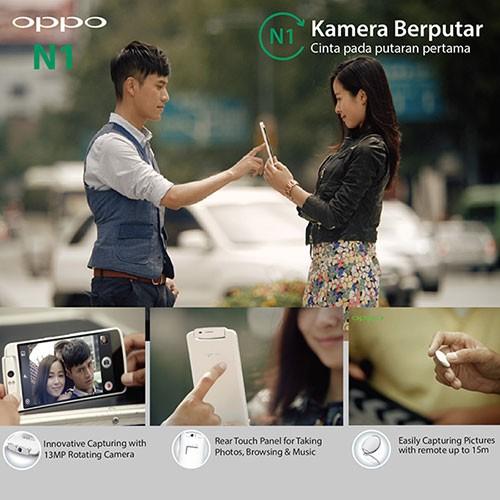 OPPO N1, Menggebrak Pasar Smartphone dengan Kamera Putar Pertama di Dunia
