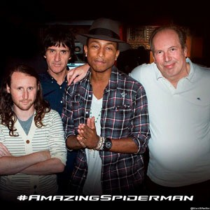 Hans Zimmer dan Pharrell Williams Tangani Musik The Amazing Spider-Man 2