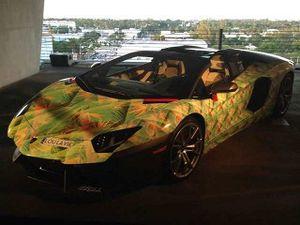 Lamborghini Unik Lebron James, Terinspirasi dari Sepatu Nike