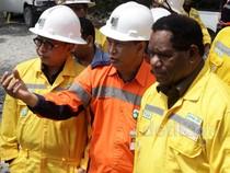 Menteri Lingkungan Hidup Tinjau Tambang Emas Antam