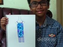Rafi Ridwan, Desainer Tuna Rungu yang Mendunia