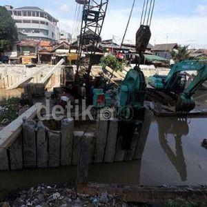Proyek Sudetan Sungai Ciliwung Senilai Rp 493 Miliar Segera Dimulai