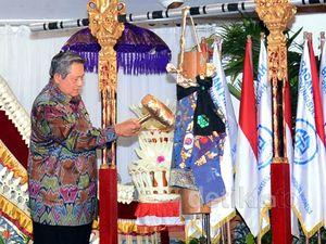 SBY Buka Munas Gapensi.
