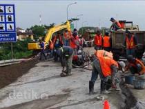 Perbaikan Jalan Tol Cipularang Terus Dikebut